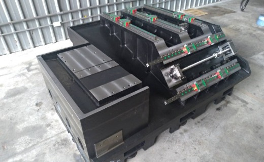 2STB CNC Turning & Milling Center Base Cast
