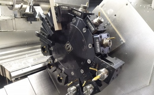2STB CNC Turning & Milling Center with Sauter BMT 55 Power Turret